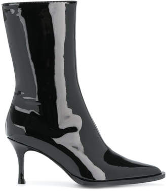 McQ pointed stiletto boots
