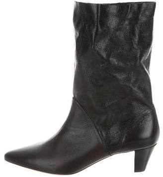 IRO Drapity Pointed-Toe Ankle Boots