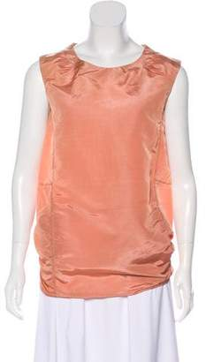 Marni Sleeveless Silk-Blend Top