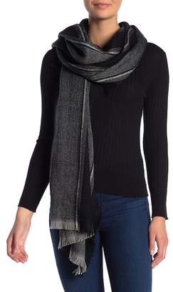 Madewell Clubhouse Striped Fringe Scarf
