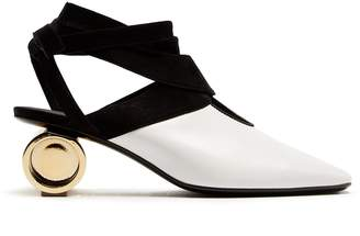 J.W.Anderson Cylinder-heel leather mules