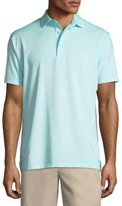 Peter Millar Jubilee Striped Jersey Polo Shirt