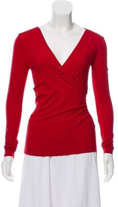 Akris Punto Jersey Long Sleeve Top