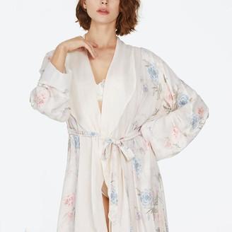 Black Label Krystal Long Robe