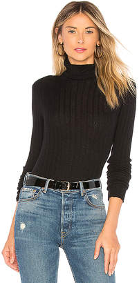Autumn Cashmere Rib Turtleneck