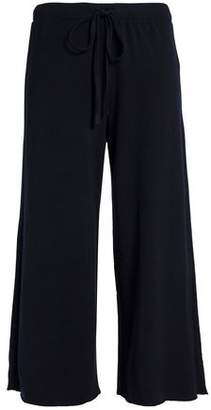 Velvet by Graham & Spencer Stretch Modal And Cotton-Blend French Terry Wide-Leg Pants
