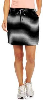 Silverwear Women's Jersey Stripe Skort