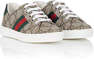 Gucci Kids' New Ace Canvas Sneakers