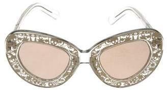 Karen Walker Intergalatic Cat-Eye Sunglasses