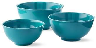 Williams-Sonoma Williams Sonoma Melamine Mixing Bowls, Set of 3, Enamel Blue