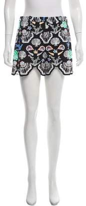 Emilio Pucci High-Rise Printed Mini Shorts