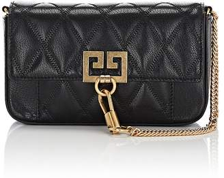 Givenchy Women's Pocket Mini Leather Crossbody Bag
