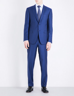 Canali Double pinstripe wool suit $1,225 thestylecure.com