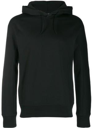 Y-3 logo printed hoodie