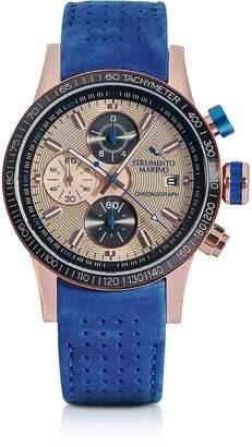 Strumento Marino Admiral Leather Chronograph Men's Watch