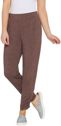 Logo By Lori Goldstein LOGO Lounge by Lori Goldstein Jersey Pull-On Ankle Pants