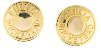 Emilia Wickstead Medallion Clip-On Earrings