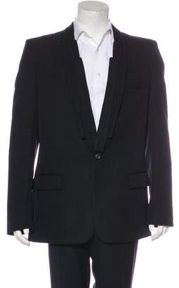 Maison Margiela Pleated Wool Blazer