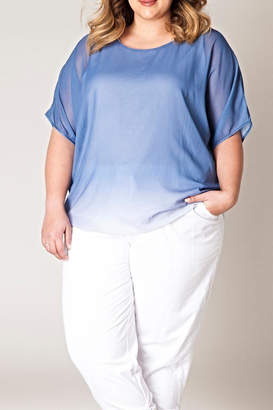 Yest Blue Fading Blouse