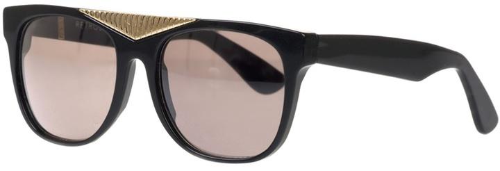 Retro Super Future Black plastic sunglasses