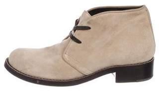 Bottega Veneta Suede Chukka Boots