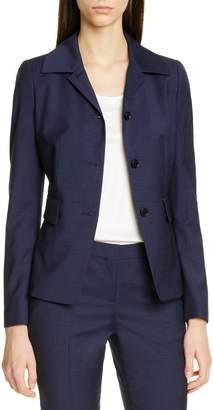 BOSS Jarera Wool Small Check Jacket