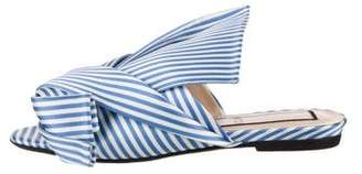 No.21 No. 21 Knotted Slide Sandals