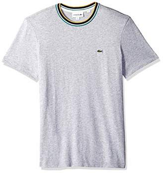 Lacoste Men's Short Sleeve Jersey Contrast Collar Tee