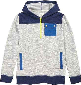 J.Crew crewcuts by Colorblock Half Zip Hoodie