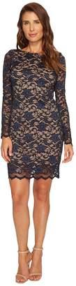Karen Kane Long Sleeve Lace Dress Women's Dress