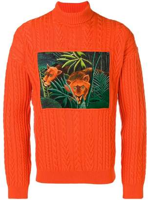 Kenzo MEMENTO COLLECTION 3 turtleneck sweater