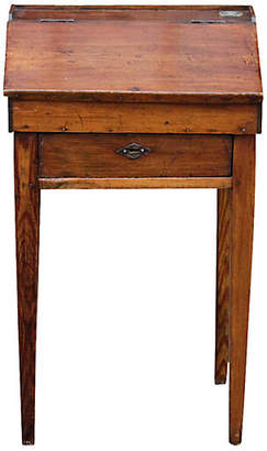 One Kings Lane Vintage Charming Antique French Writing Table - de-cor