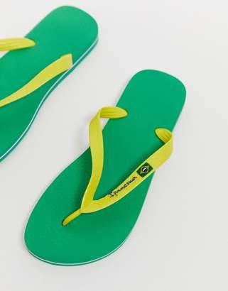 Ipanema brazil 21 flip flop in yellow/green