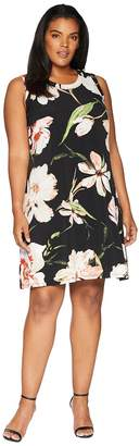 Karen Kane Plus Plus Size Halter Dress Women's Dress