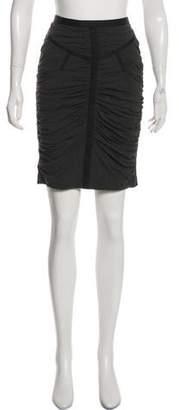 Dolce & Gabbana Zip-Up Knee-Length Skirt