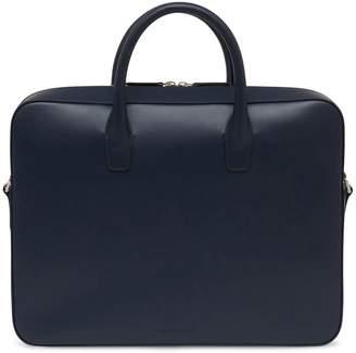 Mansur Gavriel Calf Briefcase - Blu