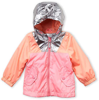 Osh Kosh B'gosh (Infant Girls) Hooded Color Block Windbreaker Jacket