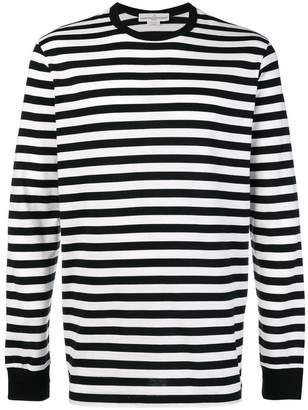 Golden Goose striped round neck jumper