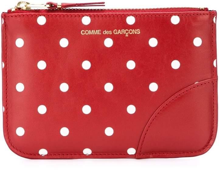 Comme Des Garçons Wallet 'Polka Dots Printed' purse