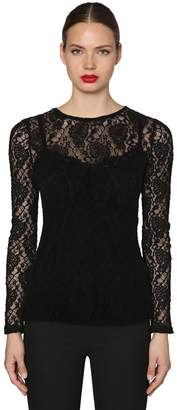 Dolce & Gabbana STRETCH LACE TOP