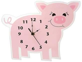 Trend Lab Piglet Wall Clock Pink