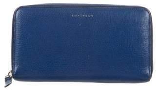 Smythson Panama Zip Travel Wallet