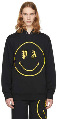 Palm Angels Black PA Smiling Hoodie