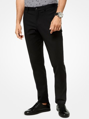 Michael Kors Slim-Fit Stretch-Cotton Trousers