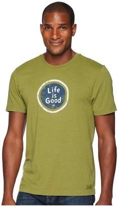 Life is Good LIG Coin Crusher Tee Men's T Shirt