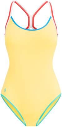65d700361173e at Orchard Mile · Polo Ralph Lauren Racerback One-Piece Swimsuit