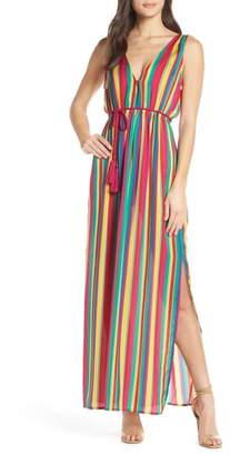 BB Dakota N the Rainbows Stripe Maxi Dress