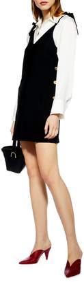 Topshop PETITE Tilda Mini Slip Dress