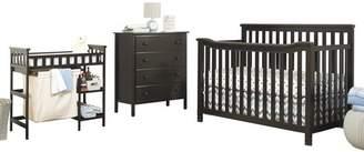 Sorelle Palisades 4-in-1 Convertible 3 Piece Crib Set