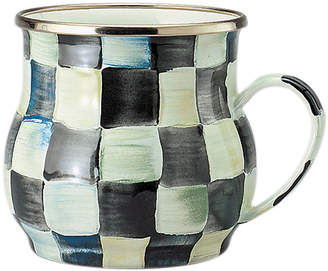 Mackenzie Childs MacKenzie-Childs - Courtly Check Enamel Mug